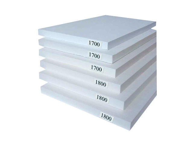 High Density Ceramic Fiber Board , Furnace Chamber Ceramic Fiber Insulation Board