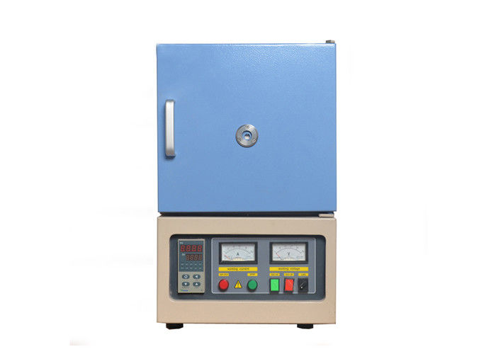 1400℃ Electric Lab Bench-top Muffle Furnace, 8 Liter Chamber Furnace