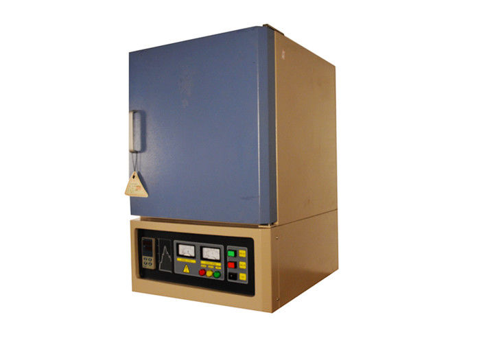 SiC Heating Element Electric Muffle Furnace , 1400 ℃ High Temperature Lab Oven