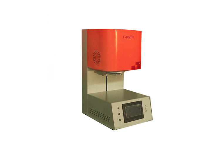 1700 Degree Dental Lab Equipment Dental Sintering Furnace For Zirconia With Touch Screen